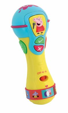 Inspiration Works Peppa Pig Sing and Learn Microphone: Amazon.co.uk: Toys & Games