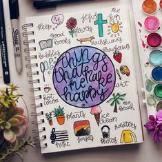 pinterest: @sketchingdoodles // #happiness #journaling #journal #artjournal #artjournaling #art #watercolor #happy #doodles #doodling // sketchingdoodles art