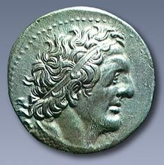 TETRADRACHM of Ptolemy I- Silver tetradrachm of Ptolemy I, showing the head of the monarch, circa 305-285 BCE, Athens
