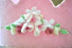 Felt Crown - Pink Roses