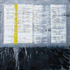 "Danie Wood; Oil 2014 Painting ""Starker Wind"""