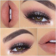 """House of Lashes® on Instagram: """"We love this soft romantic look by... ❤ liked on Polyvore featuring beauty products, makeup, eye makeup, eyes, lips and beauty"""