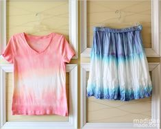 Crafty Holiday Projects with Tie Dye