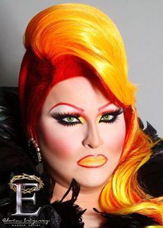 Drag Queen Makeup Tips..start practicing Raquel!