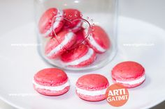 French Macarons per Valentine's Day