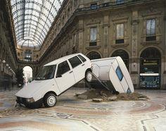 'Short Cut', Elmgreen & Dragset, 2003. Photograph by Jens Ziethe. Courtesy of Galleria Massimo de Carlo, MCA Chicago