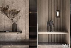 News and Trends from Best Interior Designers Arround the World Apartment Interior, Apartment Design, Luxury Interior, Modern Interior, Interior Design Living Room, Living Room Designs, Niche Design, Natural Homes, Interior Inspiration
