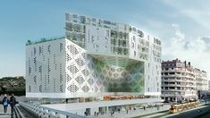 MIXED-USE BUILDING | Manuelle Gautrand
