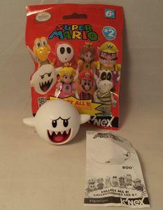 Boo Super Mario Bros Series 2 K'Nex Mini Figure New #KNEX