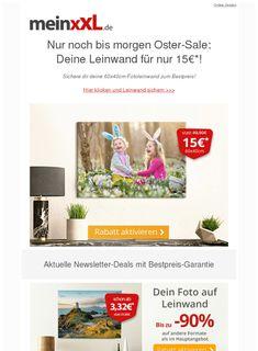 Nur noch bis morgen OSTERN-Special! meinxxl.de wünscht frohe Ostern!  ❙  #KunstHobby  - https://deal-held.de/nur-noch-bis-morgen-ostern-special-meinxxl-de-wuenscht-frohe-ostern/