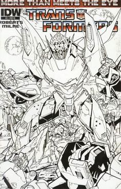 Transformers More Than Meets The Eye #2 Incentive Alex Milne Sketch Cover