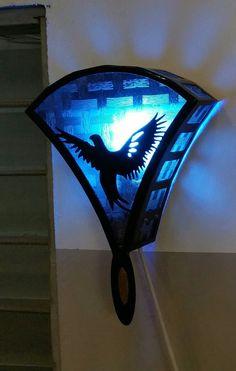 Pigeon lamp