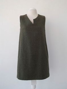 Coral wool Short dress.Luci Lü by twyggi. Explore more products on http://twyggi.etsy.com