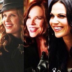 The Mills Women (Zelena, Cora, and Regina)