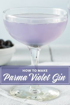 Parma Violet gin is everywhere we look at the moment so we made our own! Here's a super easy recipe for you to make your own parma violet gin at home. Homemade Liqueur Recipes, Gin Recipes, Homemade Wine, Alcohol Recipes, Recipies, Parma Violet Gin, Parma Violets, Christmas Gin, Christmas Cocktails
