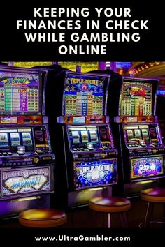 How to keep finances under control while gambling at an online casino or bookmaker, together with advice on identifying and combating compulsive gambling online. #gambling #casino #onlinecasino Online Gambling, Online Casino, Book Making, Finance, Advice, Check, Tips, Economics