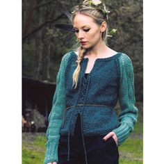 Louisa Harding Ramble, pattern available from WEBS.