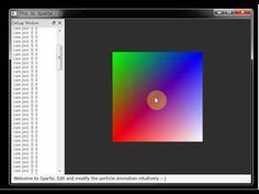 6/18/2011: I start to write Sparta by C++. Simple openGL + Qt apps for sparta_core.