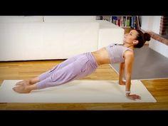 ▶ Gesunder Rücken: Yoga Drehhaltungen und Rückbeugen - Mittelstufe - YouTube