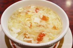 Clean Eating Recipe – Healthy Egg Drop Soup | Clean Eating Recipes #cleaneating #cleaneatingdiet #healthyrecipes