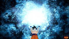 Dragonballz Goku Spirit Bomb Free Hd   Wallpaper