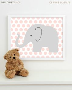 Baby Nursery Art, Safari Animal Nursery Print, Jungle Elephant Children Kids Wall Art Kids Room Playroom Baby Nursery Decor - One Elephant Nursery Art, Baby Nursery Art, Animal Nursery, Jungle Nursery, Elephant Theme, Nursery Themes, Nursery Ideas, Boy Wall Art, Kids Room Wall Art