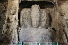 Inside Elephanta Caves, Mumbai