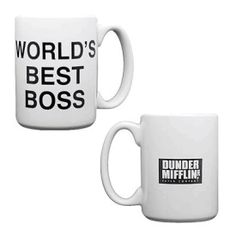 The Office Dunder Mifflin Worlds Best Boss Coffee Mug