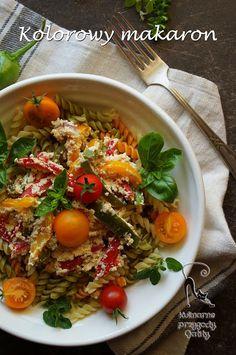 Kulinarne przygody Gatity: Makaron z papryką, czyli szybki obiad