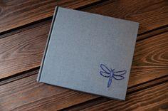 Notebook. Libélula, bordado cordoncillo