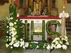 Resultado de imagem para bukiety na ołtarz w kościele
