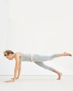 New Balance® for J.Crew seamless tank top and seamless capri leggings.