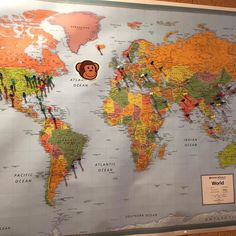 The map of where all our guests have been from now has  my ThinkGeek Timmy sticker too!  Shirakaba Guest House in New Ashford/MA/USA #timmyverse #berkshires #shirakaba_guest_house #couplesgetaway #merrychristmas
