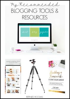 Interested in starting your own blog, or just curious to learn about what blogging tools & resources I use? Take a peek at what's inside my blogging tool box!