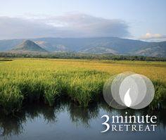 Compassionate Living 3 Minute Retreat
