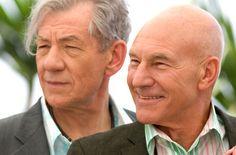 Ian McKellen Will Officiate Patrick Stewart's Wedding: How do we get Ian McKellen to officiate your wedding???
