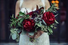 romantic peony bouquet photo: SASHA ARUTYUNOVA