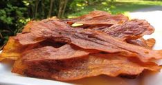 the happy raw kitchen: Raw Vegan Bacon... I knew someone needed this recipie... I forget who.