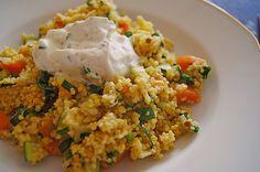 Hirsepfanne mit Joghurtsoße, ein leckeres Rezept aus der Kategorie Gemüse. Bewertungen: 264. Durchschnitt: Ø 4,4.