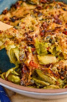 Slimming Eats Syn Free Brussels Sprouts Gratin - gluten free, vegetarian, Slimming World and Weight Watchers friendly Slimming World Vegetarian Recipes, Slimming Recipes, Healthy Prawn Recipes, Healthy Food List, Healthy Eating Recipes, Diet Recipes, Vegan Recipes, Cooking Recipes, Recipies