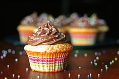 See Brooke Cook: Perfect Yellow Cupcakes & Chocolate Buttercream