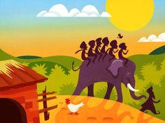 Indian folktale. For Homer Learning, 2014 by Martin Wickstrom.