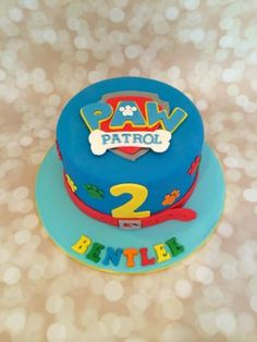 """Just yelp for help"" Fun Paw patrol themed cake and cupcakes. Paw Patrol Birthday Cake, 4th Birthday Cakes, Boy Birthday Parties, Birthday Ideas, Cupcakes, Cupcake Cakes, Paw Patrol Torte, Bolo Minecraft, Cakes For Boys"