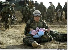 Why is Compassion only expected from our Soldiers ?  I am proud that our side is compassionate.