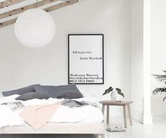 You actually belong to those groups individuals who rarely care about glamour and over-the-top designs for your home, then this is definitely your current cup of joe. Check out this content to get 5 diy home decor ideas on budget. Scandi Bedroom, Trendy Bedroom, Modern Bedroom, White Bedroom, Bedroom Themes, Bedroom Decor, Bedroom Ideas, Bedroom Inspo, Bedroom Inspiration