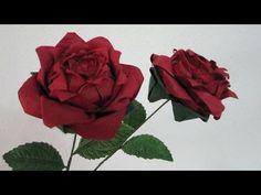 達人折りのバラの折り紙 10 Only one origami rose 10 Origami Magic Rose Cube, Easy Origami Rose, How To Make Origami, Origami Easy, Origami Paper, Origami Instructions, Origami Tutorial, Flower Crafts, Diy Flowers