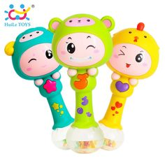 HUILE TOYS 3101 Baby Shaker Sand Hammer Toy Dynamic Rhythm Stick Baby Rattles Kids Musical Party Favor Musical Instrument Toys - Kid Shop Global - Kids & Baby Shop Online - baby & kids clothing, toys for baby & kid Toddler Toys, Baby Toys, Kids Toys, Baby Baby, Baby Musical Toys, Coloring For Boys, Baby Shop Online, Baby Rattle, Animals For Kids