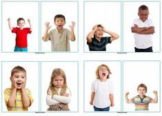 Kaarten met diverse gezichtsuitdrukkingen en suggesties voor in de kring, tijdens het spelen en knutselen. Emotions Preschool, Body Preschool, Preschool Activities, Social Emotional Activities, Feelings Activities, Sequencing Pictures, Sequencing Cards, Feelings Chart, Feelings And Emotions