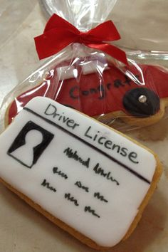License and car cookies