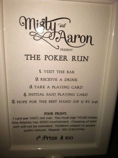 Trendy wedding games for guests drinks ideas Buck And Doe Games, Stag Games, Wedding Day Cards, Wedding Table Names, Wedding Events, Wedding Games For Guests, Poker Run, Jack And Jill, Trendy Wedding